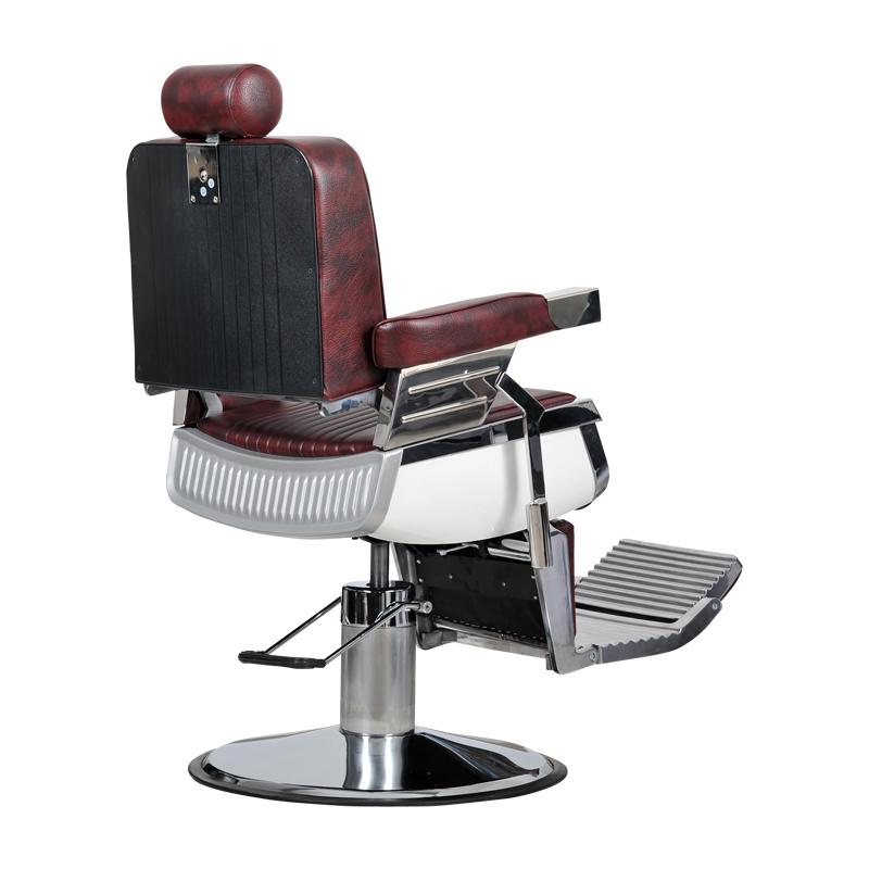 Barber bordó fodrász szék